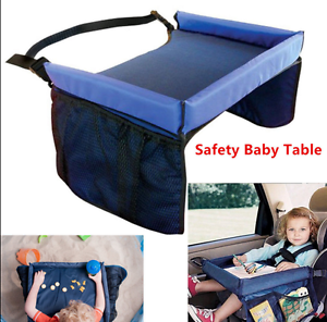 Image Is Loading Safety Waterproof Snack Baby Car Seat Table Pushchair