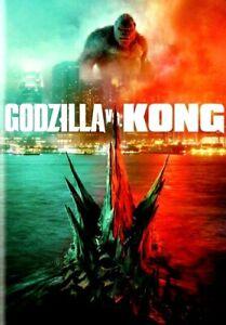 Godzilla vs. Kong [DVD] [2020] >>>NEW<<< FREE SHIPPING!!!!>>>