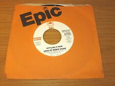 """PROMO SOUL 45 RPM - SONS OF ROBIN STONE - EPIC 50257 - """"LET'S DO IT NOW"""""""