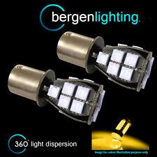 382 1156 BA15s 245 207 P21W AMBER 18 SMD LED REAR INDICATOR LIGHT BULBS RI201202