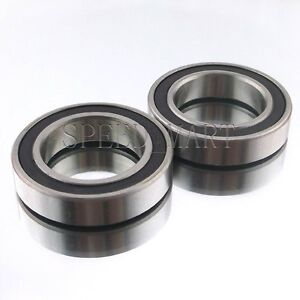 2PCS 6806-2RS 6806RS Deep Groove Rubber Shielded Ball Bearing (30mm*42mm*7mm<wbr/>)