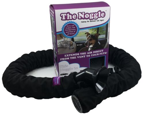 Black Ice 10ft The Pet Noggle Extend Air Conditioning or Heat to Your Dog