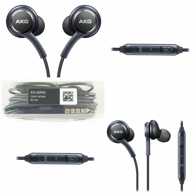 Original Oem For Samsung Galaxy S8 S9 Note 8 Akg Earphones Headphones Headset For Sale Online Ebay
