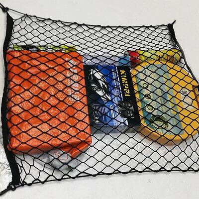 70x70cm Universal Car Trunk Cargo Pocket Baggage Luggage Net Holder Black