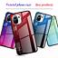miniatura 4 - COVER per Xiaomi Mi 11 Lite CUSTODIA ORIGINALE Gradient Glass + VETRO TEMPERATO