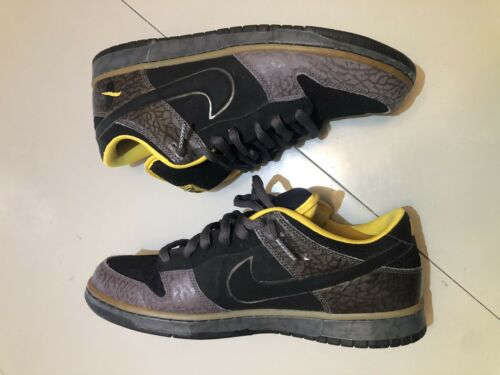Nike Dunk Low SB 'Yellow Curb' Size 12