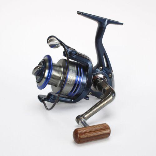 Fishing Reel Blue Angel SSV Stationary role spinnrolle Aluminum Spool 11 Ball Bearings