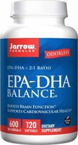 JARROW-FORMULAS-EPA-DHA-Balance-120-Weichkapseln-VERSAND-WELTWEIT