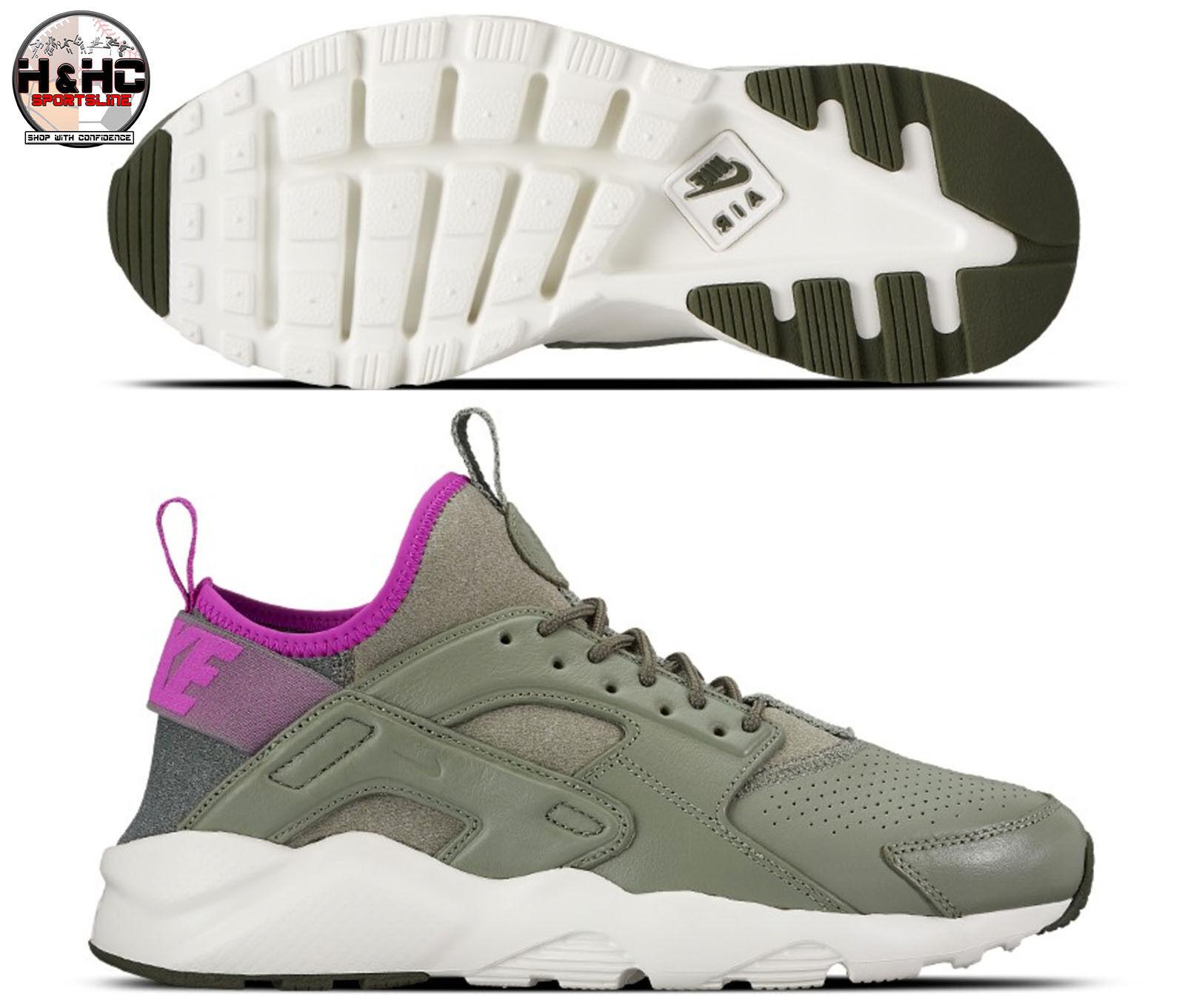 Nike se air huarache correre ultra se Nike 875841 003 buio stucco / viola scarpe da uomo 023cce