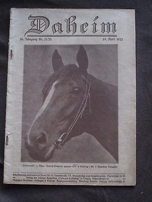 Daheim 1922 Pferd Priesterwald 1914 Albert Einstein Rothenburg O D Tauber Vögel