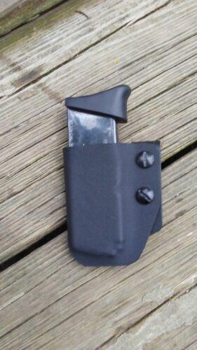 matte black IWB Kydex magazine pouch fits Taurus 709 Slim