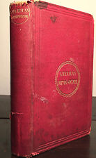 AMERICAN COTTON SPINNER, MANAGERS' AND CARDERS' GUIDE, Robert Baird 1st/1st 1854