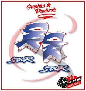 Honda CR500 CR 500 Graphics Stickers Kit Decals Fits 91-01 Model Premium Vinyl