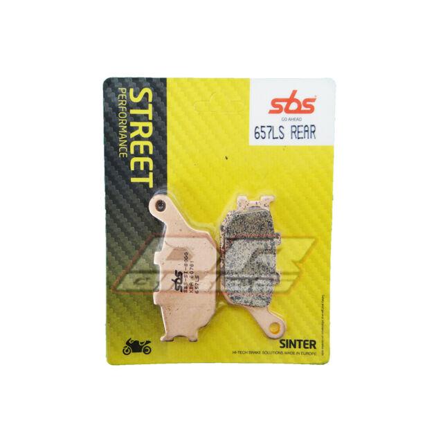 Suzuki GSF 650 S ABS Bandit 2006 SBS Street Sintered Rear Brake Pads 657LS