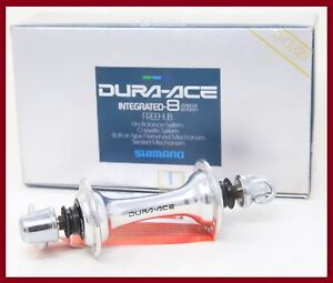 NOS SHIMANO DURA-ACE FRONT HUB HB-7700 32H HOLES SKEWER ROAD RACING 90s VINTAGE