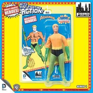 DC-Comics-Super-Powers-AQUAMAN-retro-8-Inch-Figure-With-Fist-Fighting-new