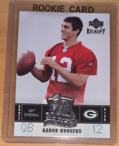 Aaron Rodgers 2005 Upper Deck Kickoff Rookie Card