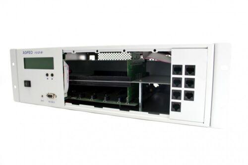 AGFEO AS 100 IT P400-1 IT Firmware 9.2 Rechnung MwSt V-Modul /& Frontplatte