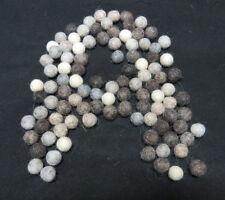 FB4 Hand Crafted 1cm 50pc Natural color wool pom pom beads Felt Ball Decorative