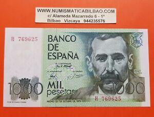 ESPANA-1000-PESETAS-1979-Serie-H-BENITO-PEREZ-GALDOS-Pick-158-SC-SIN-CIRCULAR