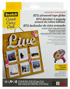 3M-Scotch-Advanced-Tape-Glider-Pink-ATG-Permanent-Adhesive-For-Paper-Projects
