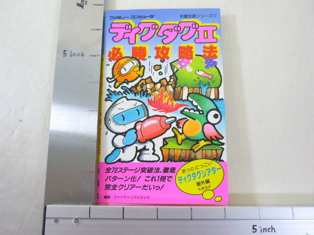 Cava Dug II 2 Guía Famicom Pies
