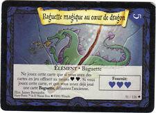 HARRY POTTER n° 51/116 - Baguette magique au coeur de dragon