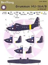Bestfong Decals 1/48 GRUMMAN HU-16 ALBATROSS Republic of China Air Force