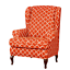 INSMA-Stretch-Wing-Chair-Cover-Slipcover-Wingback-Armchair-Furniture-Protector miniature 13
