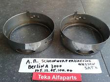 Alfa Romeo Berlina Scheinwerferzierringe Aussen Satz 105.12.65.100.00