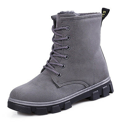 Winter Women's Snow Boots Suede nubuck Shoes Plush Warm Fashion Comfort