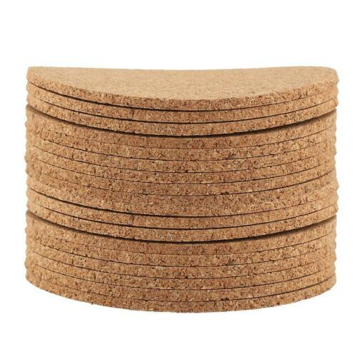 Natural Cork Cup Mat Heat Resistant Coaster Pad Drink Coffee Cup Pad