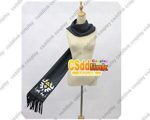 Hyrule Warriors Legend of Zelda dark Link Cosplay Costume black scarf 155CM