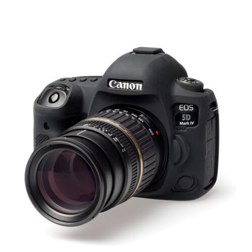 EasyCover Canon 5D Mark IV EA-ECC5D4B cámara caso Silicona Negro Envío Gratis en EE UU.