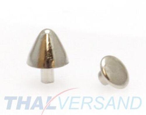 10 pièces rivets décoratifs spike 8mm x 7mm #17 motif rivets en cuir clouté zierniete rivets
