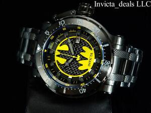 Invicta-Mens-62mm-DC-Comics-BATMAN-Automatic-Limited-Edition-SS-Bracelet-Watch
