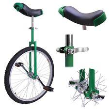 "24/"" Butyl Tire Chrome Unicycle Wheel Cycling Mountain Exercise Balance Fitness"