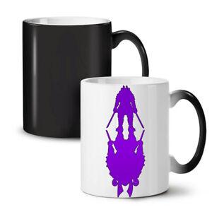 Double Katana Fantasy NEW Colour Changing Tea Coffee Mug 11 oz | Wellcoda