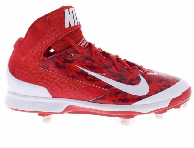 buy popular 203ff 8a82c ... where to buy nike air huarache pro 3 4 mid metal mens baseball cleats  red camo