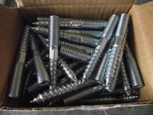 100 Stockschrauben M 10 x 60 mm verz.