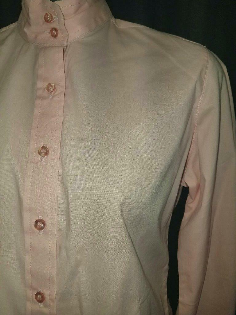 LADIES Hunt SHIRT English show sz 16   38+  PINK by Ovation NEW
