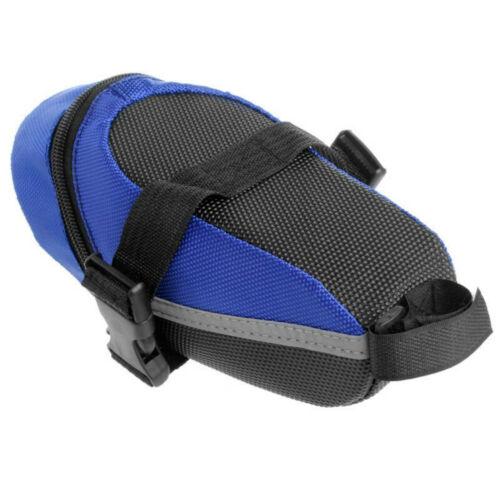 Bicycle mountain bike saddle bag lower seat rear storage tail bag riding bag US