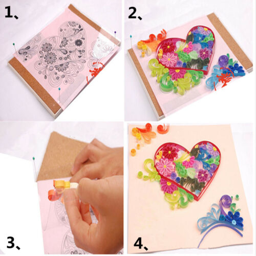 18PCS Quilling Tool DIY Release Drawing Locating Paper Craft Quilled