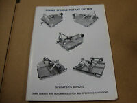 Howse 5 6 & 7 Foot Rotary Mower Operators Manual