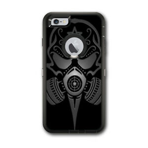 Skin Decal for Otterbox Defender iPhone 6 PLUS Case / gas mask