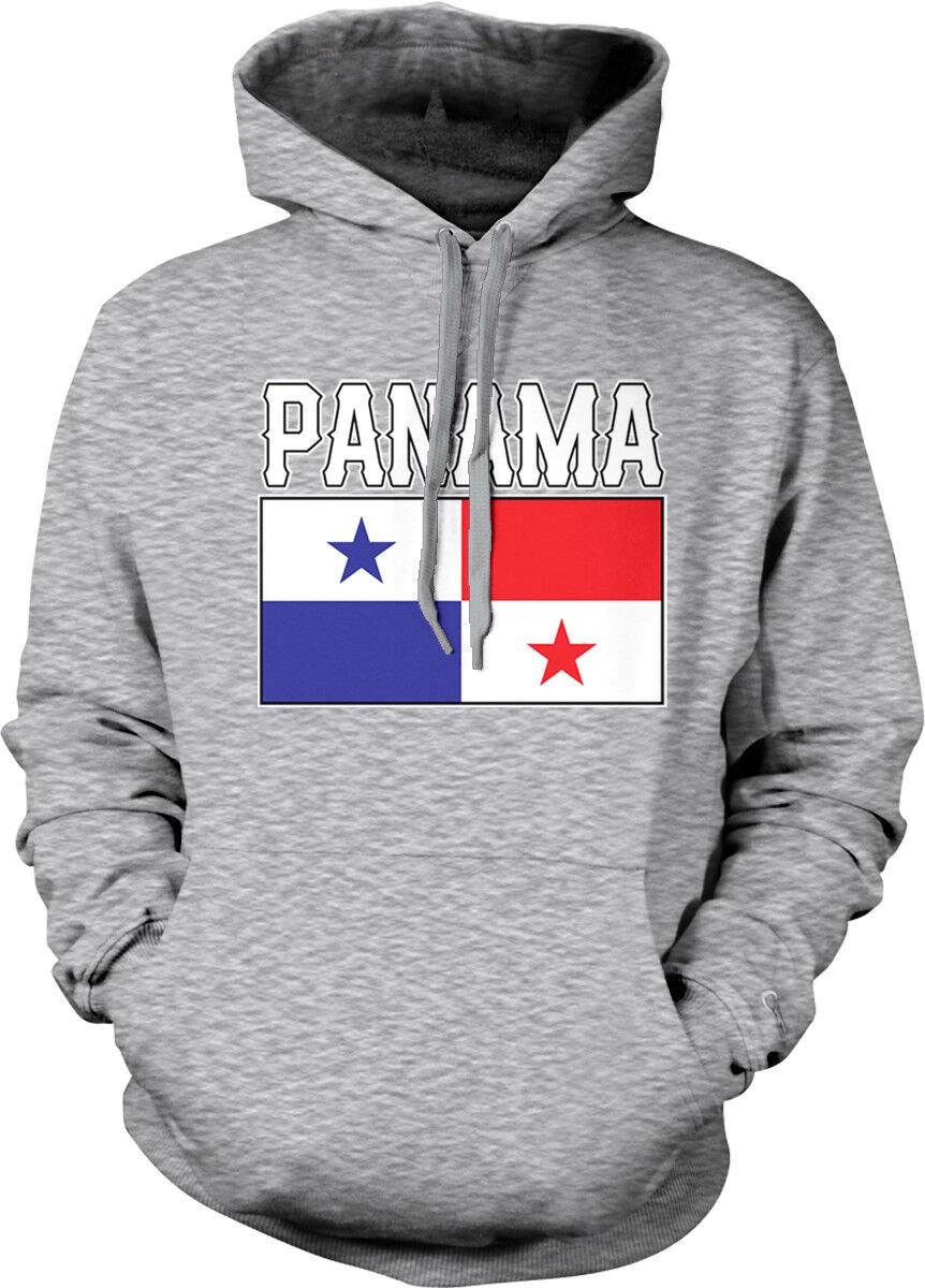 Panama Flag colors Font Panamanian Country Soccer PAN PA From Hoodie Sweatshirt