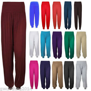 Ladies-women-039-s-girls-Ali-Baba-Harem-Hareem-Trousers-Pants-Leggings-Costume-Dress