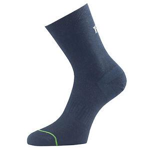 6 Pair 1000 Mile Ladies Workout Gym Running Training Socks Black Medium UK6-8.5