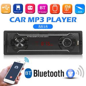 Bluetooth-Car-Stereo-Audio-In-Dash-FM-Aux-Input-Receiver-SD-USB-MP3-Radio-Player