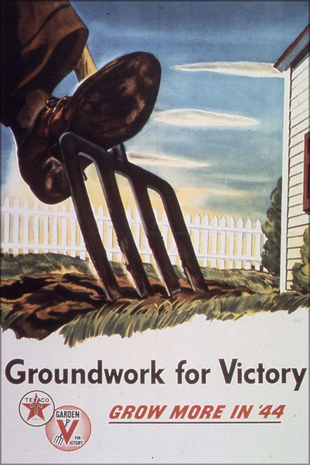 Affiche, Plusieurs Tailles; Groundwork Groundwork Groundwork For Victory Croissance Plus dans '44 | Matériaux De Qualité  | Avoir à La Fois La Qualité De La Ténacité Et De Dureté  | Stocker  | Outlet Online  d39c16